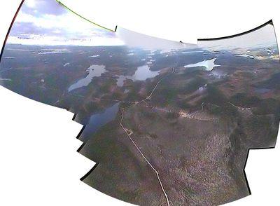 Haisunäätä @ Rovajärvi high panorama